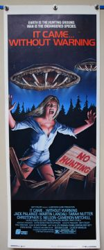 It Came Without Warning Horror Poster - US Insert